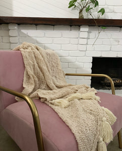Willow Weave Natural Throw