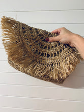Load image into Gallery viewer, Hyacinth Mandala Clutch