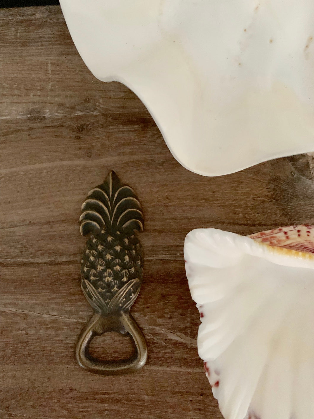 Brass Pineapple Bottle Opener/ medium