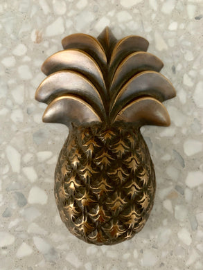 Brass Large Pineapple Bottle Opener
