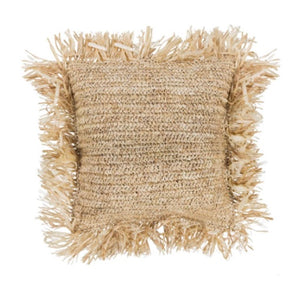Rafia Cushion Cover/ Natural