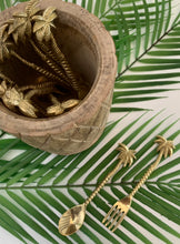 Load image into Gallery viewer, Brass Palm Tree Spoon