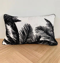 Load image into Gallery viewer, Palm Embroidered Cushion Cover