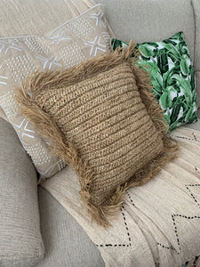 Natural Amara Throw