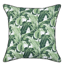 Load image into Gallery viewer, Green Banana Leaf Cushion Cover