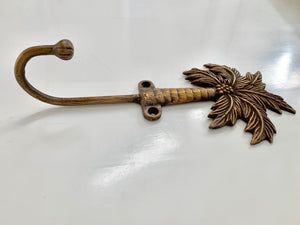Brass Coconut Palm Hook