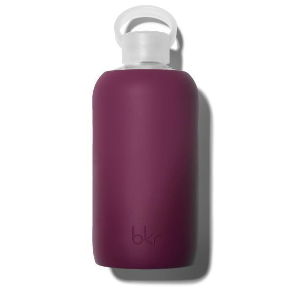 bkr Glass Water Bottle: 32oz BITTEN 1L