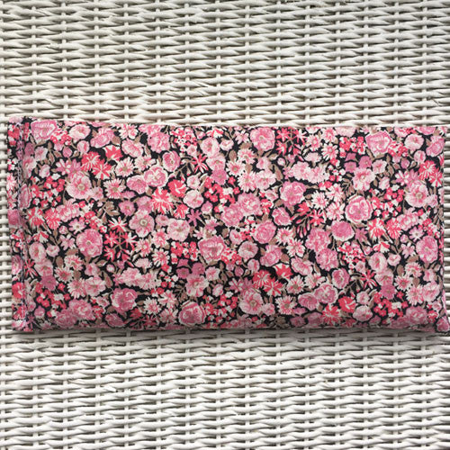 Pink Liberty Eye Pillow for Relaxation, Yoga & Meditation (Non Scented or Organic Lavender)