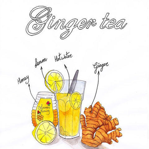 Therapeutic Ginger Drinks