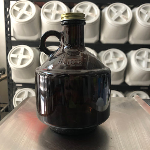 Growler 32 oz. (1 Litro) - Ámbar