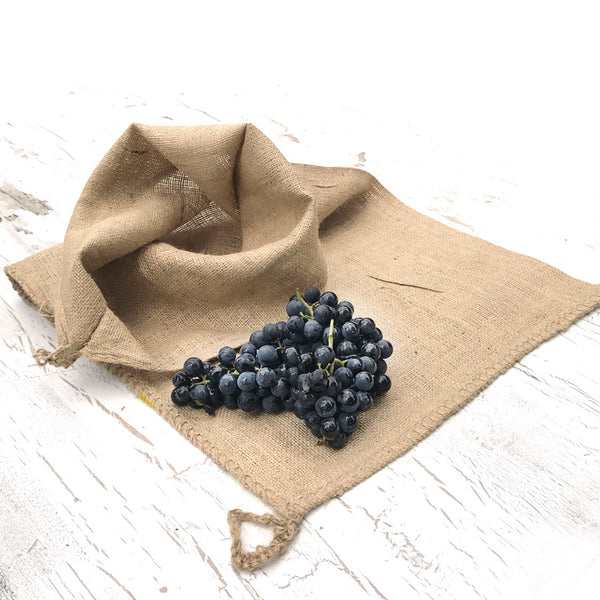 All Natural Burlap Fruit Press Filter Bag for making Wine and Cider