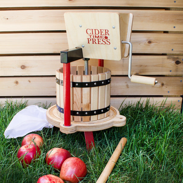 Cider Time Fruit Press and Apple Crusher