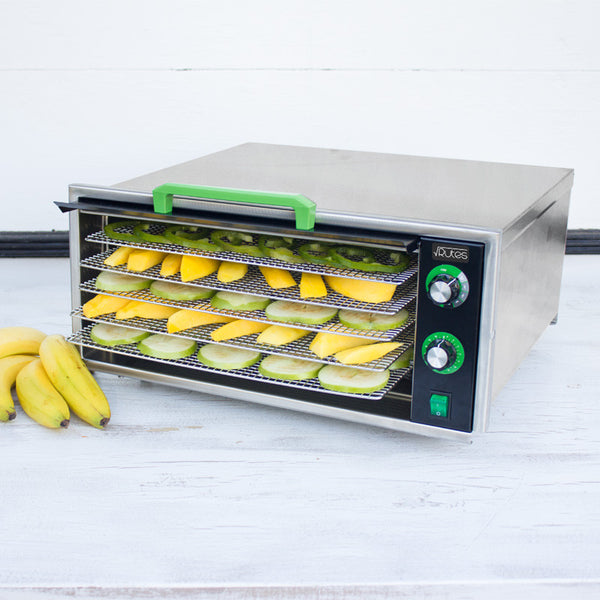 Raw Rutes - Square Rutes 5 Tray Stainless Steel Dehydrator