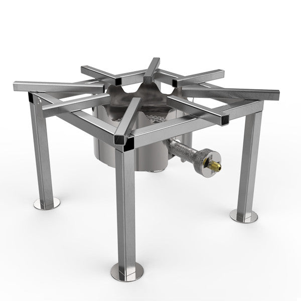 Stainless Steel Freestanding Brewer's Burner