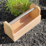 Garden Caddy - Cedar Tool Box with Handle