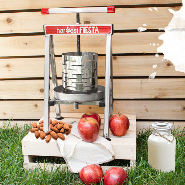 Harvest Fiesta 2.5L Nut Milk & Fruit Press