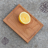"7"" Reclaimed Cherry Board (Rectangular)"