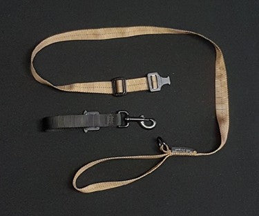 Cobra Adjustable Belt leash w/ Quick Release Tab