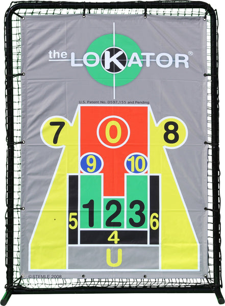 LoKator Pitching Target is the best pitching aid.