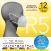 Special Deals for PAIRC: Surgical Respirator R5 Earband FFP2 (12pcs) with 1 bottle Anti-Bac Spray