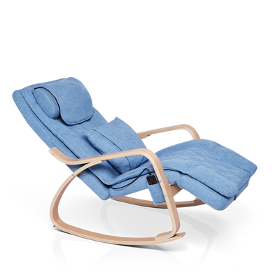 Blue Rocking Massager Chair