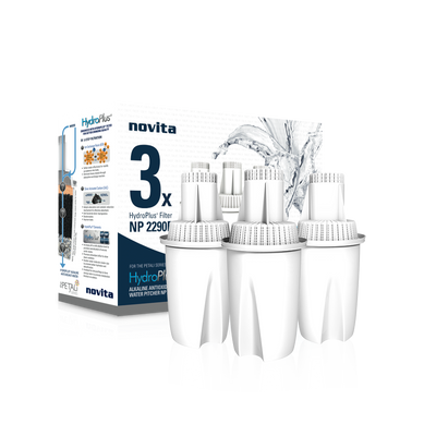 Bundle Deal: HydroPlus® Water Pitcher NP2290 & Filter Pack