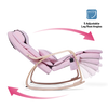 Pink Rocking Massager Chair