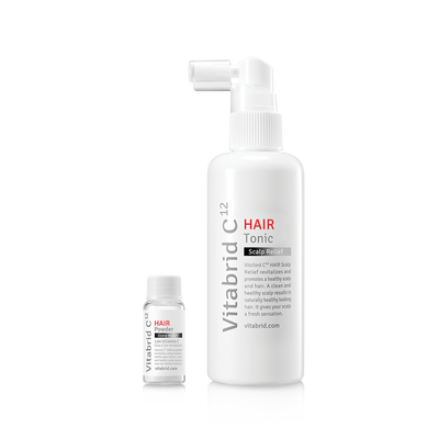 Vitabrid C¹² HAIR Tonic Set: Scalp Relief