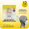 Special Deals for Healthway Medical: Surgical Respirator R5 Earband (12pcs) with 1 bottle Anti-Bac Spray