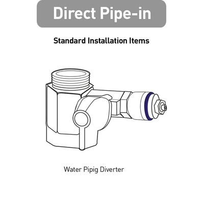 Direct-Piping Connector
