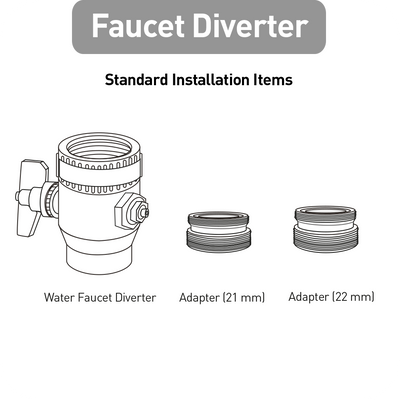 Faucet Diverter (Made In Korea) (3896430559304)