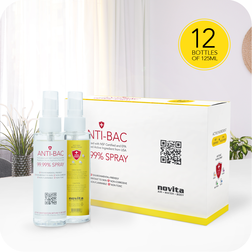 Anti-Bac Spray (12 in 1 box) - Deliver/Collect from 15-Apr onwards (4515535192136)