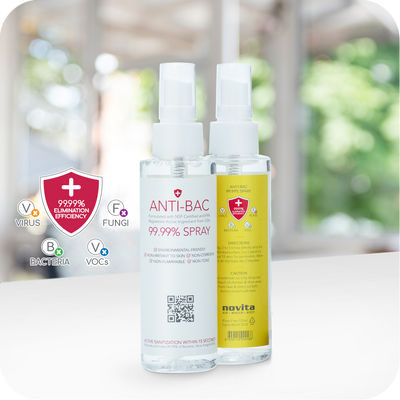 Exclusive Deals for our Singapore Heroes ! Anti-Bac Spray