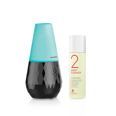 Aroma Diffuser NA200 with 1 bottle Air Purifying Solution Concentrate Bundle (4267382833224)