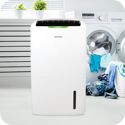 PuriDry™ 2-In-1 Dehumidifier ND2000 with HEPA Air Purification