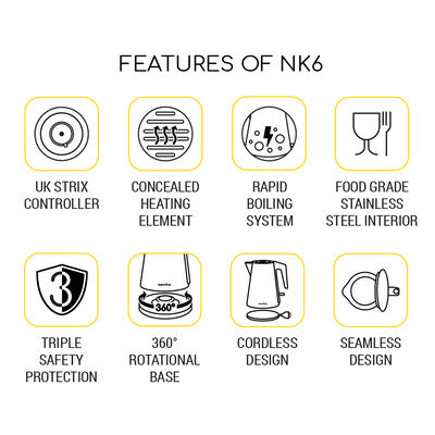 Bundle Deal: Water Kettle NK6 & Faucet Water Purifier NP180 Bundle