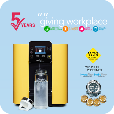 5 Year Workplace Leasing: Hot & Cold Water Dispenser W29-12M (Installation Included)