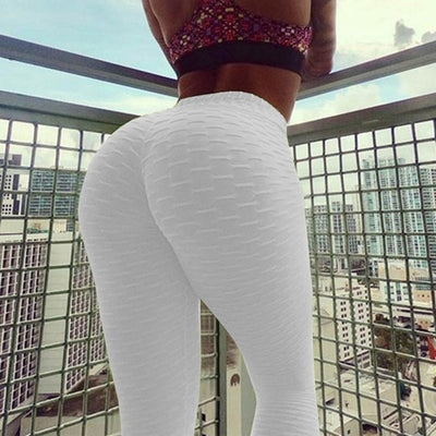 V Bandage Gym Leggings Sport Women Fitness Yoga Pants Stretch High Waist Scrunch Sport Leggings Tights Trousers Women Sweatpants