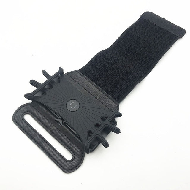 Universal Cell Phone Holder Wristband for iPhone X XS XR MAX 7 8 Plus 180 Rotatable Running Sport Wrist Arm Band S10 S9 S7