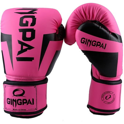 Women Boxing Gloves PU Foam Adult Kids Kick Kickboxing Training Boxing MMA Gloves Muay Thai Boxer Boxe De Luva Mitts Gloves