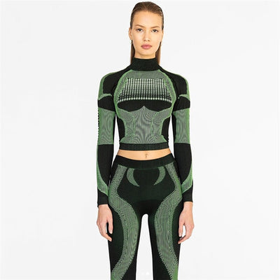 Gym Fitness Sports Suit For Women-AndreaZoe