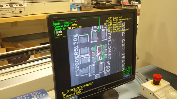 PCB optical inspection