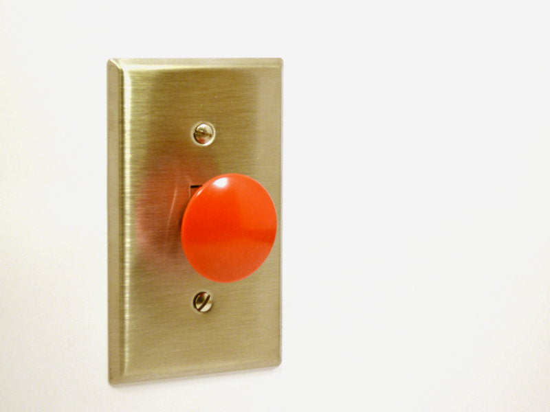 Awkward Engineer - Panic Button Light Switch Kit (110V/60Hz)