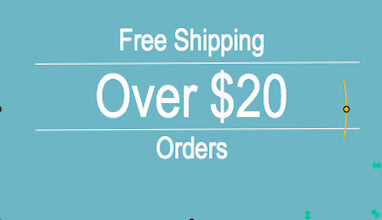 Free Shipping on Orders Over $20