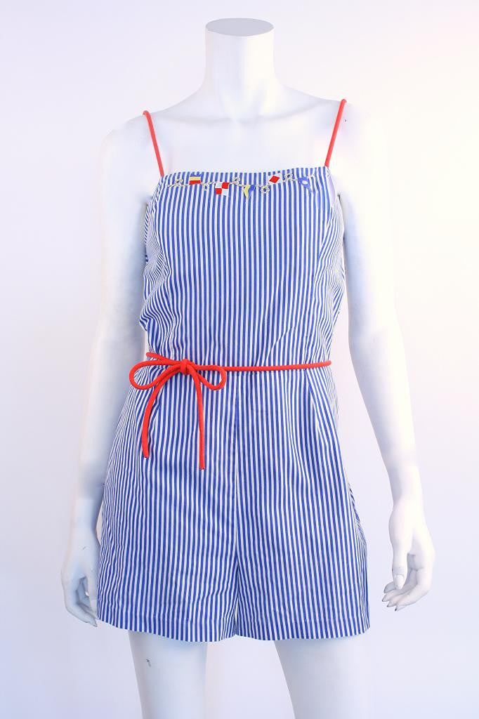Vintage Nautical Romper
