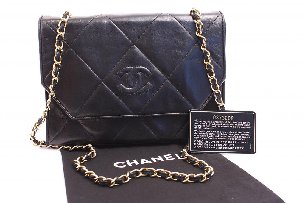 Vintage Chanel Flap Handbag