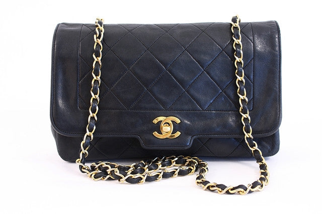 Vintage Chanel Single Flap Handbag