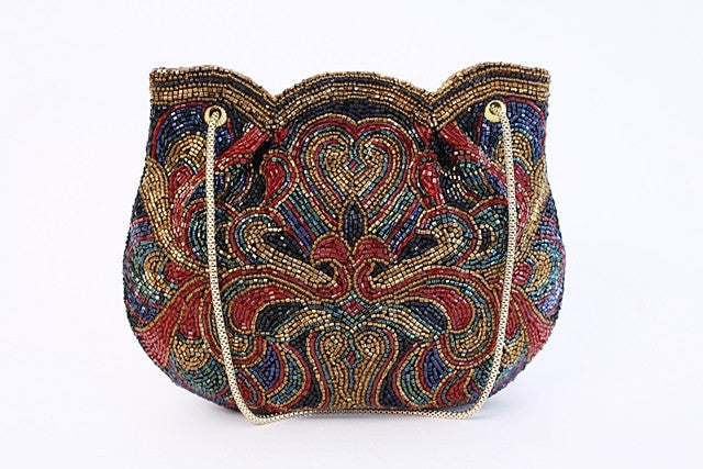 Vintage Walborg Beaded Evening Bag