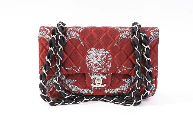 Limited Chanel Lion Double Flap Bag