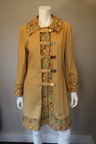 1970s Folkloric Embroidered Jacket